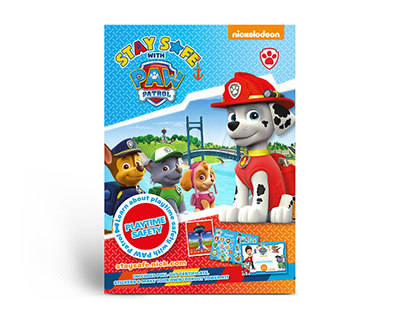 Stay Safe with Paw Patrol Campaign
