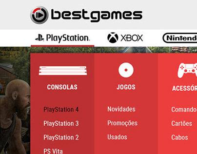 BEST GAMES - web design