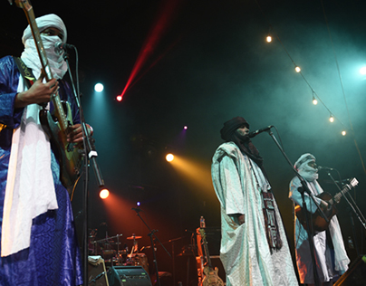 Tinariwen - music photography in Liverpool