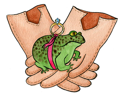 Wedding Invitations - Toad & Gloves