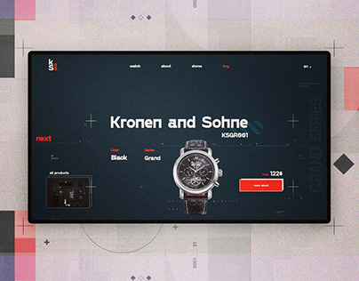 UI/UX Web Design Interfaces 2