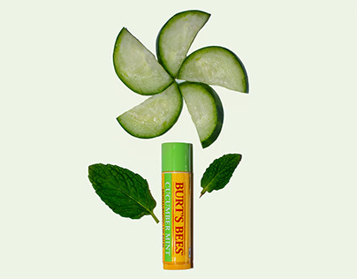 Burt's Bees Cucumber Mint Print Ad