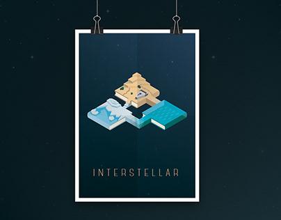College Project | Interstellar Poster