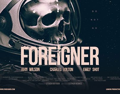Foreigner - Film Posters