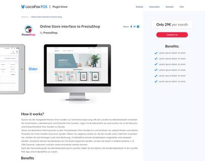Web Design for Locafox