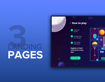 Amazing UI/UX Solutions for Landing Pages