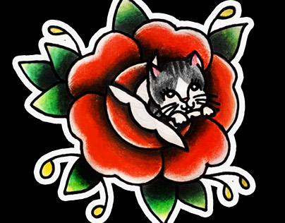 kITTY ROSE 🐱🌹