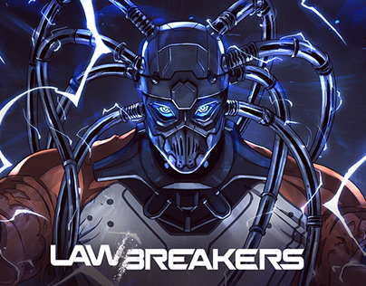 Cronos from Lawbreakers - art of motion comics