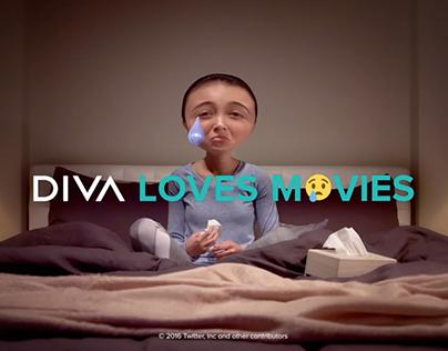 DIVA Loves Movies - Ident - Drama