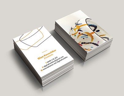 Olga Kakoulidou Business Card