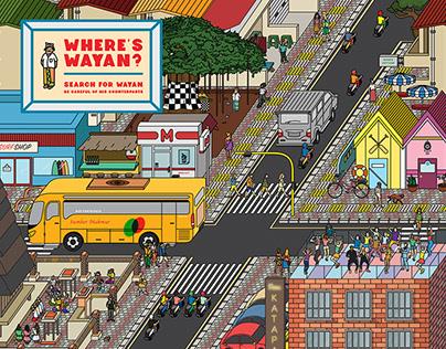 Where's Wayan? — Seminyak Design Week 2018