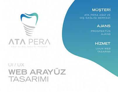 Ata Pera Ağız ve Diş Sağlığı Merkezi Web Sitesi