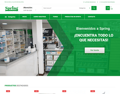 """Tienda online """"Productos Clinicos"""""""