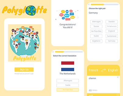 Polyglotte - Vocabulary Learning App