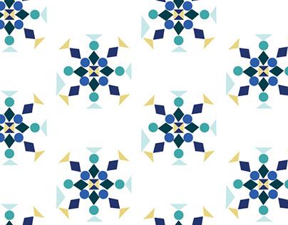 Świąteczna pocztówka (pattern)