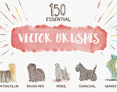 Essential Vector Brushes - with a free sample