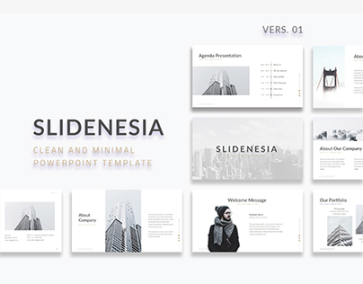 SLIDENESIA - FREE POWERPOINT PRESENTATION TEMPLATE