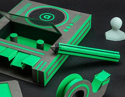 atrioom Vol.2 - Set design by Treize grammes