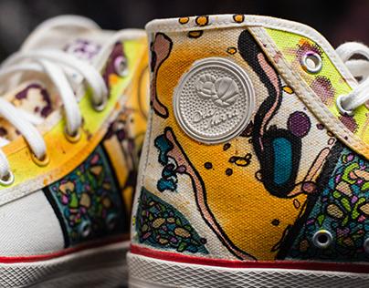 CUSTOM sneakers x 19/62