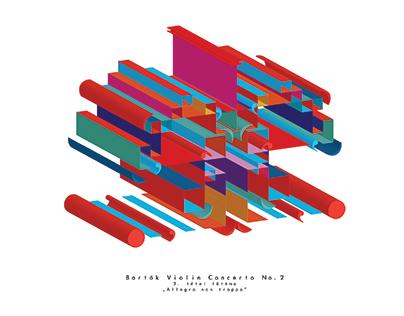 Beyond Bartók - Music Visualization Project