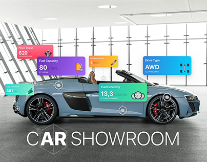 CAR SHOWROOM - Augmented Reality App/Experience