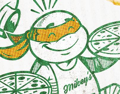 Teenage Mutant Ninja Turtles Pizza Box