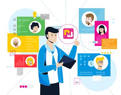 Digital Maturity Barometer | 2D explainer video