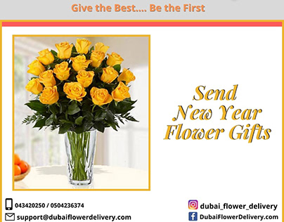 Convey New Year Wishes with Flower Gifts