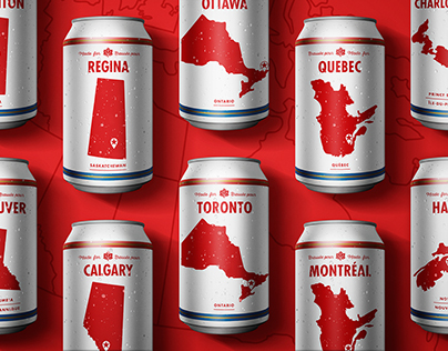 Molson Hometown Cans