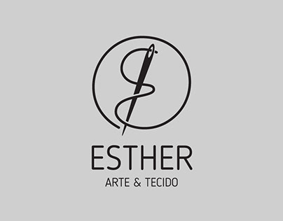 Logo Esther Arte & Tecido