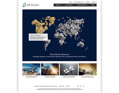 JM Enigma Corporate Website