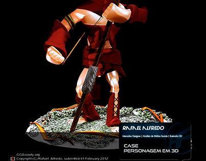 Case: Modelo em 3D