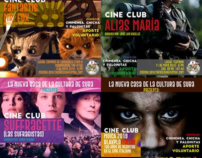 Cine Club Casa De La Cultura De Suba