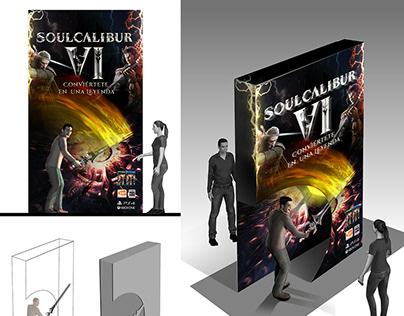 Diseño y Creatividad Retail para Soulcalibur VI