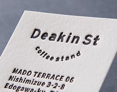 Deakin St coffee stand