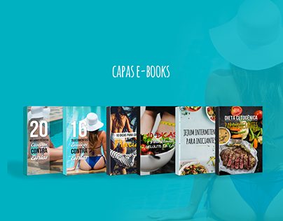 Capas E-books - Dietas