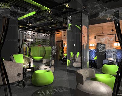 hookah lounge