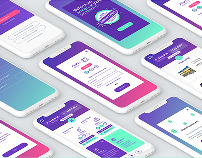 UX | UI - Referral Plan / App