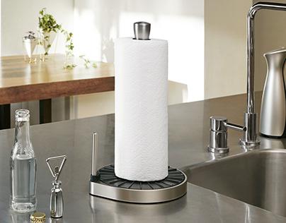 Umbra Spin Click-N-Tear Paper Towel Holder