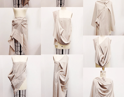 Draping Process for Fashion Design