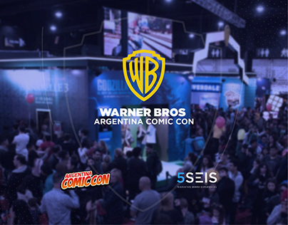 Warner Bros. in Argentina Comic Con May 2019