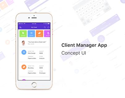 Client Manager app