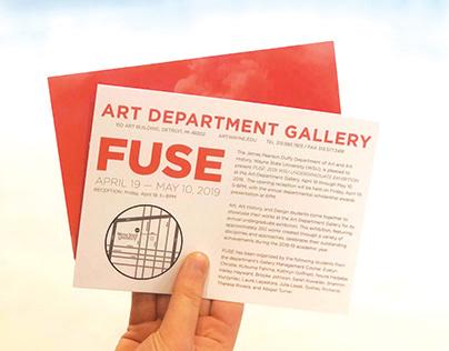 FUSE - Wayne State Art Exhibition