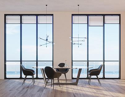 Avant-garde apartment