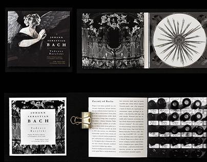 ALBUM COVER | Johann Sebastian BACH. Tadeusz Barylski.