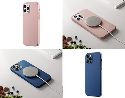 uBear. Cases for the iPhone 12. CGI
