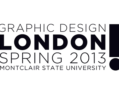 London Study Abroad Poster Series
