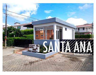 Santa Ana Residential Entrance