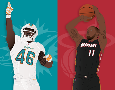 NBA & NFL Player requested Illustrations