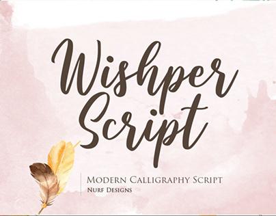 FREE | Wishper Script
